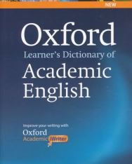 Oxford Learner's Dictionary of Academic Englsih with Academic iWriter