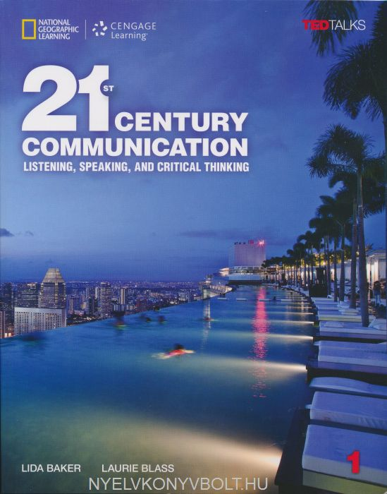 21st Century Communication 1 Student's Book + Printed Access Code Listening, Speaking and Critical Thinking with TED Talks