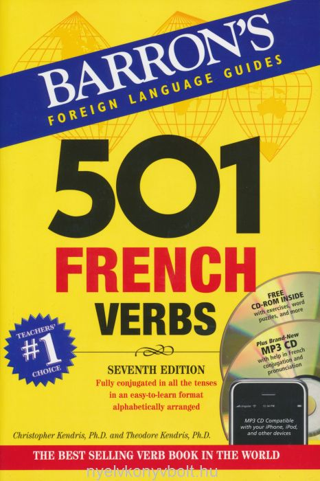 501 French Verbs with CD-ROM and MP3 CD - Barron's Foreign Language Guides