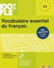 Vocabulaire essentiel du francais A2 Livre avec CD Audio MP3 - 100 % FLE