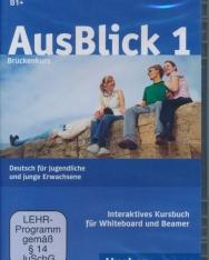 AusBlick 1 - Interaktives Kursbuch für Whiteboard und Beamer - DVD-ROM