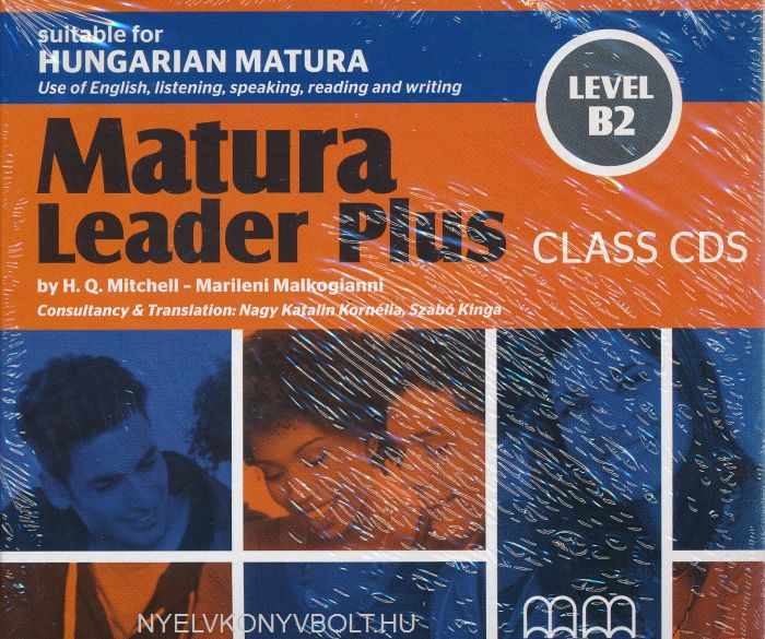 Matura Leader Plus Level B2 Audio CDs