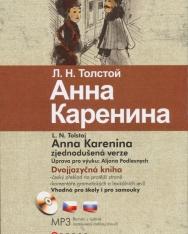 Lev Nikolayevich Tolstoy: Anna Karenina - Dvojjazycná kniha + MP3