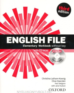 English File - 3rd Edition - Elementary Workbook without Key with iChecker CD-ROM