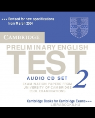 Cambridge Preliminary English Test 2 Official Examination Past Papers 2nd Edition Audio CDs (2)