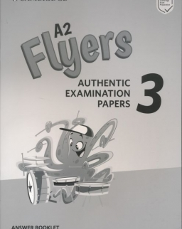 Cambridge English Flyers 3 Answer Booklet for Revised Exam From 2018