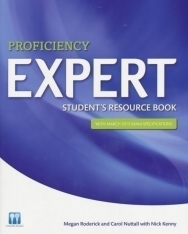 Proficiency Expert Student's Resource Book with March 2013 Exam Specifications and Online Audio