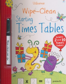 Starting Times Tables (Usborne Wipe Clean Books)