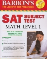 Barron's SAT Subject Test Math Level 1 4TH Edition