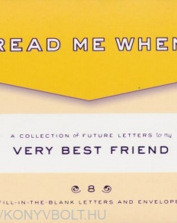 Knock Knock Letters to My Very Best Friend - Read Me When Box