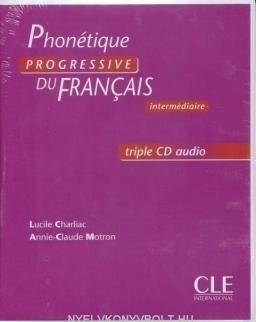 Phonétique progressive du francais Intermédiaire Coffret CD audi