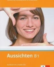 Aussichten B1 Kursbuch mit 2 Audio-CDs