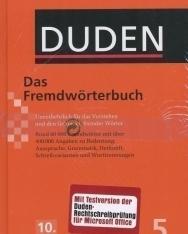 Das Fremdwörterbuch (10. Auflage) - Der Duden in 12 Bänden/Band 5