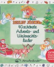 Detlev Jöcker: Detlev Jöckers 40 schönste Advents -und Weihnachtslieder