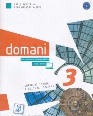 Domani 3 con eserciziario + DVD - corso di lingua e cultura italiana