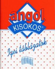 Angol Kisokos - Igei Táblázatok
