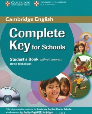 Complete Key for Schools Student's book without Answers & CD-ROM