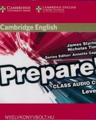 Cambridge English Prepare! Class Audio CDs Level 4