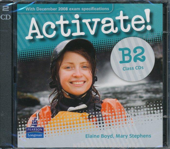 Activate! B2 Class Audio Cds (2)