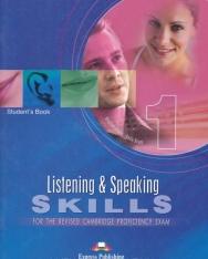 Listening & Speaking Skills 1 - for the revised Cambridge Proficiency Exam - Student's Book