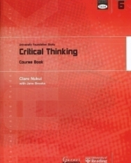 TASK: University Foundation Study Module 6: Critical Thinking Course Book