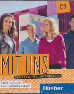 Mit uns C1 2 Audio-CDs zu Kurs- und Arbeitsbuch. Deutsch für Jugendliche. Deutsch als Fremdsprache