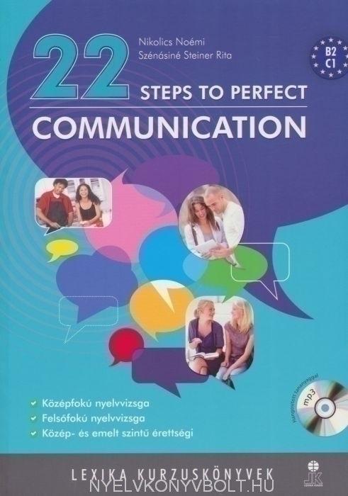 22 Steps to Perfect Communication Mp3 CD melléklettel