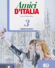Amici D'Italia 3 Eserciziario + CD Audio