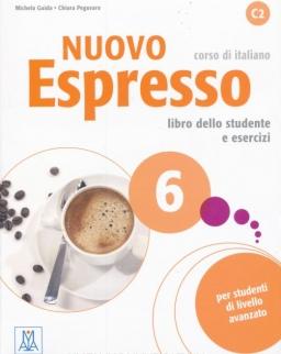 Nuovo espresso 6 C2 Libro dello studente e esercizi + CD Audio