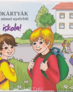 Képes szókártyák gyerekeknek - német nyelvből - Irány az iskola! (MX-579)