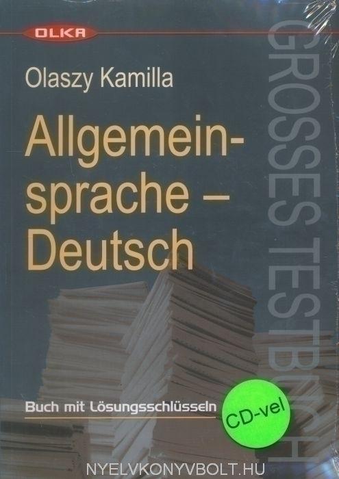 Allgemeinsprache - Deutsch Grosses Testbuch mit Audio CD