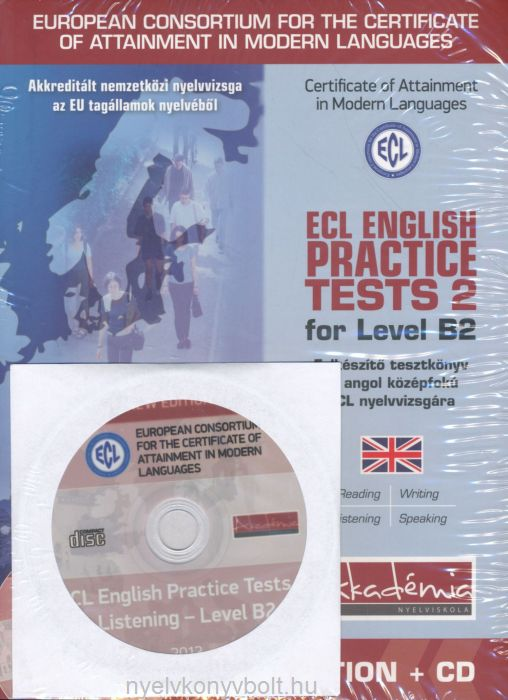 Ecl English Practice Test 2 level B2 + Audio CD