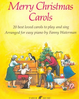 Merry Christmas Carols - easy piano