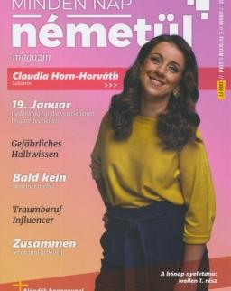 Minden Nap Németül magazin 2021 január