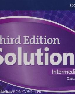 Solutions 3rd Edition Intermediate Class Audio CDs