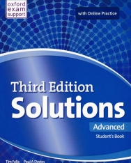 Solutions 3rd Edition Advanced Student's Book with Online Practice