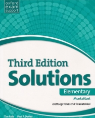 Solutions 3rd Edition Elementary Munkafüzet - érettségi felkészítő feladatokkal
