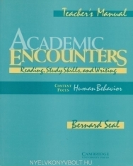 Academic Encounters - Human Behavior Teacher's Manual