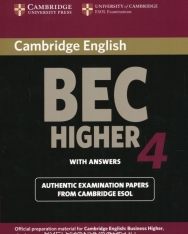 Cambridge BEC Higher 4 Official Examination Past Papers Student's Book with Answers