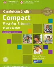 Cambridge English Compact First for Schools Student's Book with Answer & CD-ROM - Second Edition