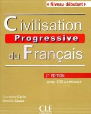 Civilisation progressive du français - avec 430 exercices Niveau débutant avec CD Audio - 2e édition