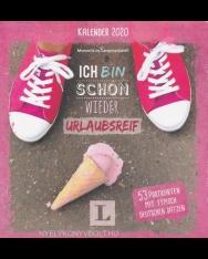 Ich bin schon wieder urlaubsreif: Kalender 2020 - Wochenkalender mit Postkarten: 53 Postkarten mit typisch deutschen Sätzen