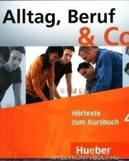 Alltag, Beruf & Co. 4 Audio CD zum Kursbuch