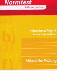 Normtest Industriekaufmann / Industriekauffrau -  Mündliche Prüfung -  Abbildungen und Probeseiten
