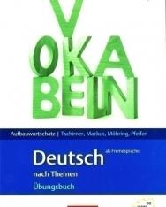 Aufbauwortschatz Deutsch als Fremdsprache nach Themen Übungsbuch