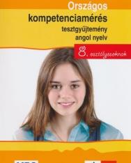 Országos kompetenciamérés tesztgyűjtemény angol nyelv 8. osztályosoknak