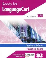 Ready for LanguageCert - Achiever B1 + mp3 - Teacher's Version
