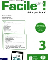 Facile Plus 3 - Guide pour le prof + 2 CD audio