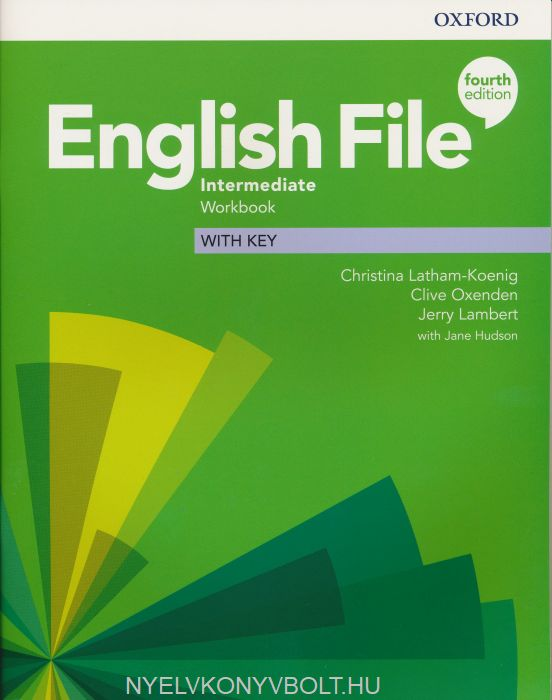English File - 4th Edition - Intermediate Workbook with Key