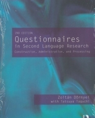 Questionnaires in Second Language Research - Construction, Administration, and Processing 2nd Edition